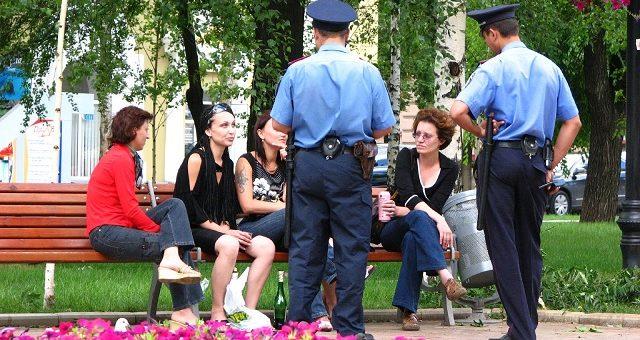 Общение с полицией